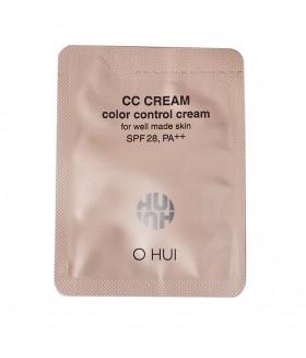 O HUI Color Control Cream spf28 2мл