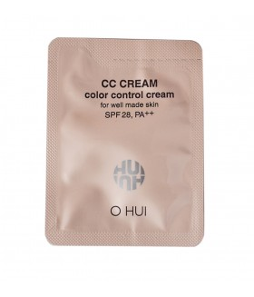 O HUI Color Control Cream spf28 2мл