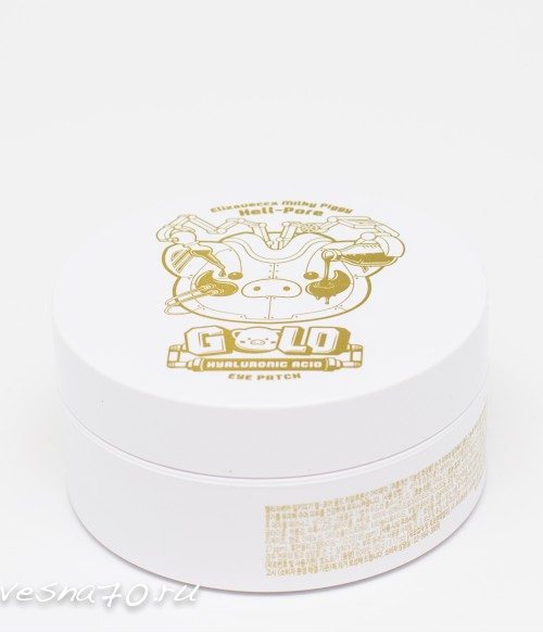 Elizavecca Milky Piggy Hell-pore Gold Hyaluronic Acid Eye Patch патчи гидрогелевые 60шт