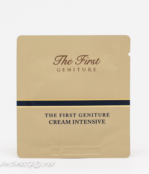 O HUI The First Cream Intensive 1мл
