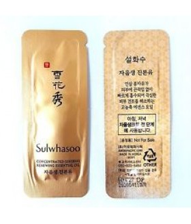 Sulwhasoo Concentrated Ginseng Renewing Essential Oil 1мл
