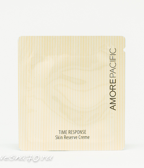 AMORE PACIFIC Time Response Skin Reserve Cream 1мл