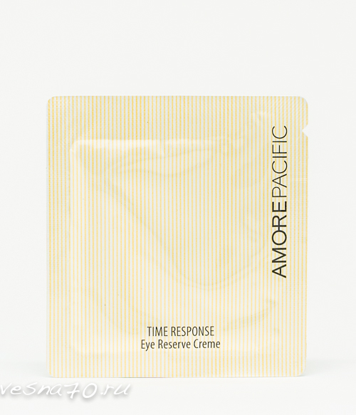 AMORE PACIFIC Time Response Eye Reserve Cream 1мл