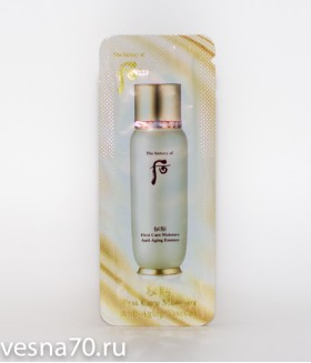 The History of Whoo Ja Saeng Essence (First Care Moisture Anti-Aging Essence) 1мл