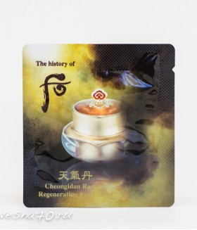 The History of Whoo Hwa Hyun (Cheongidan Radiant) Eye Cream 1мл