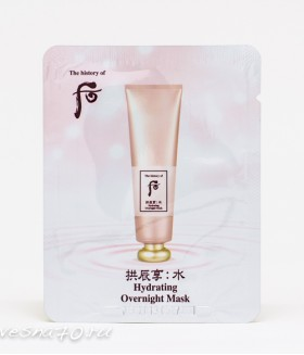 The History Of Whoo Hydrating Overnight Mask ночная увлажняющая маска 4мл