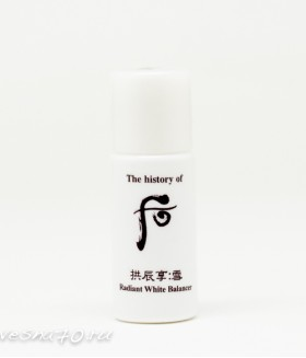 The History of Whoo Radiant White Balancer 5мл
