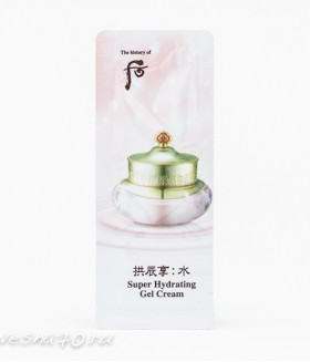 The History of Whoo Super Hydrating Gel Cream 1мл